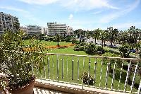 awesome view from the balcony of Cannes - Les Dunes luxury apartment