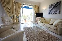 cool living room of Cannes - Les Dunes luxury apartment