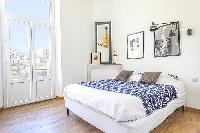 lovely bedroom of Cannes - Pere Muret luxury apartment