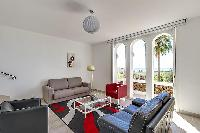 charming living room of Cannes - Villa Edith luxury apartment