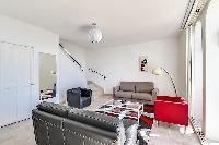 cool and comfy sitting area of Cannes - Villa Edith luxury apartment