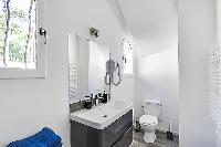 neat and trim toilet in Cannes - Villa Edith luxury apartment