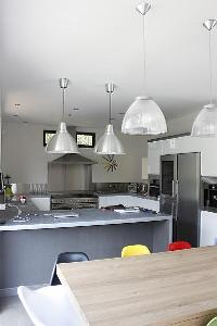 cool pendant lamps in Cannes - Les Moufflets luxury apartment