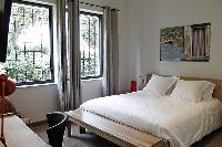 pleasant bedroom of Cannes - Les Moufflets luxury apartment