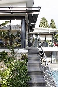 cool exterior of Cannes - Les Moufflets luxury apartment