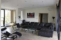large and awesome living room of Cannes - Les Moufflets luxury apartment