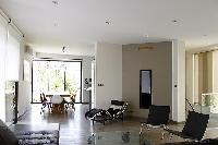 cool open-plan living room of Cannes - Les Moufflets luxury apartment
