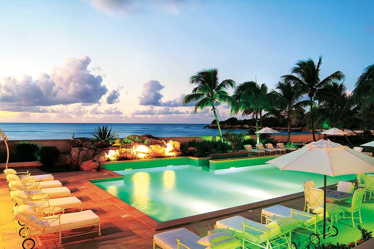 Caribbean - Saint Martin - Chateau des Palmiers