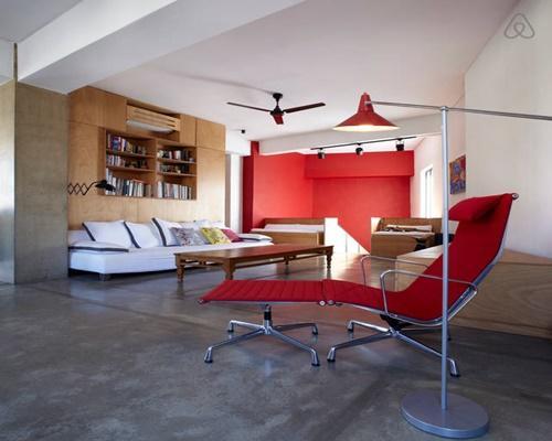 fully furnished Athens - Atelier Basquiat Penthouse luxury apartment