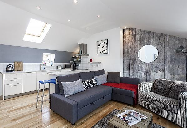 fully furnished London Kings Cross 2BR Penthouse luxury apartment