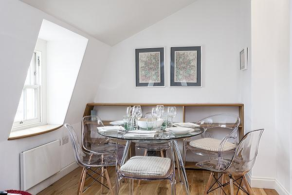 nice furnishings in London King's Cross 2-BR Penthouse luxury apartment