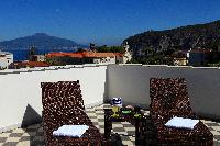 amazing view from the roof deck of Villa Dei D'Armiento luxury apartment