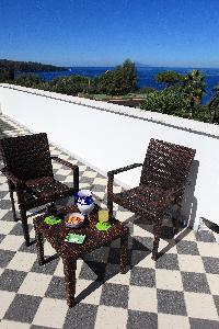awesome view from the roof deck of Villa Dei D'Armiento luxury apartment