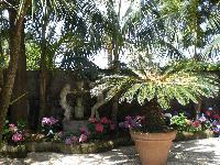 amazing garden of Villa Dei D'Armiento luxury apartment