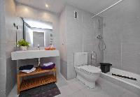 spic-and-span bathroom in Barcelona - Victoria Diagonal Mar luxury apartment