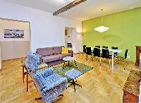 awesome living room of Rome - Trastevere Dandolo luxury apartment