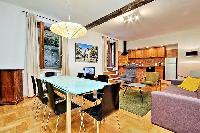 awesome dining room of Rome - Trastevere Dandolo luxury apartment