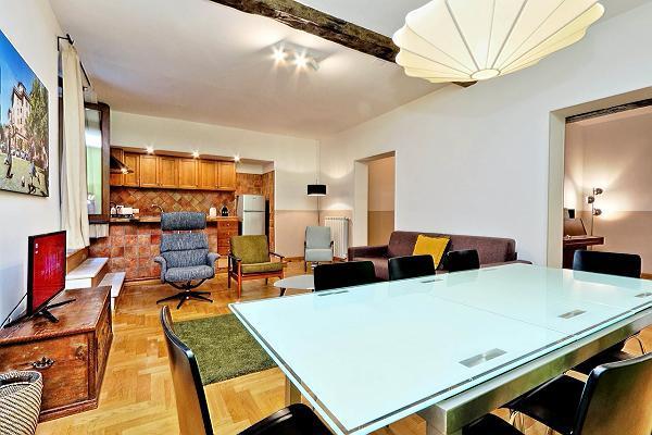 fully furnished Rome - Trastevere Dandolo luxury apartment
