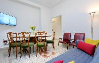 delightful living room of Rome - Charming Dante 3BR luxury apartment