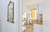 clean interiors of Rome - Charming Dante 3BR luxury apartment