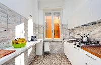 delightful modern kitchen of Rome - Charming Dante 3BR luxury apartment