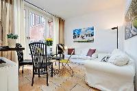 neat living room of Rome - Trevi Fo luxury apartment