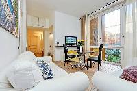 nice living room of Rome - Trevi Fo luxury apartment