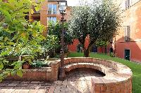 awesome courtyard of Rome - Trevi Fo luxury apartment