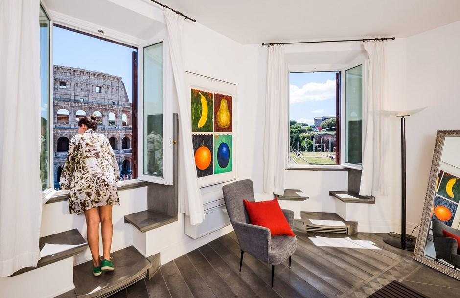 great view from Rome - Colosseum View 5BR luxury apartment