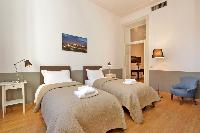 awesome bedroom of Rome - Cavour Colosseum luxury apartment