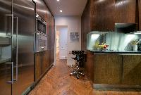 modern well-equiped kitchen in a 5-bedroom paris luxury apartment