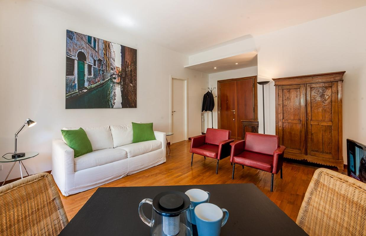 nice Rome - Vatican Terrace 1BR luxury apartment and holiday home