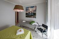 fully furnished Rome - Vatican Terrace 1BR luxury apartment