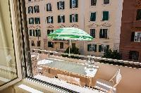 awesome terrace of Rome - Vatican Terrace 1BR luxury apartment