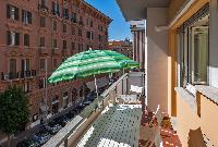 awesome balcony of Rome - Vatican Terrace 1BR luxury apartment