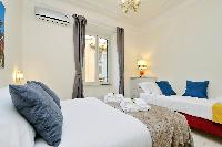 neat bedroom in Rome - Charming Vatican Museums 3BR luxury apartment