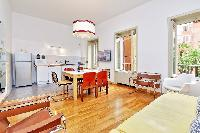 delightful living room of Rome - Grand Trevi Fountain luxury apartment