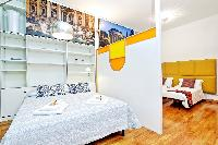 clean and fresh bedroom linens in Rome - Grand Trevi Fountain luxury apartment