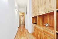 fine-crafted furniture in Rome - Grand Trevi Fountain luxury apartment