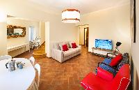 awesome living room of Rome - Luxury Navona Terrace 2BR luxury apartment