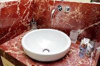 cool bathroom fittings in Rome - Boccaccio Trevi Fountain 2BR luxury apartment