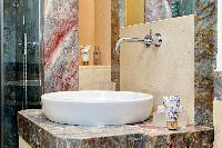 neat and nice toilet and bath in Rome - Boccaccio Trevi Fountain 2BR luxury apartment