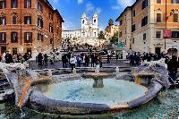 the fabled Scalinata di Trinità dei Monti or Spanish Steps near Rome - Boccaccio Trevi Fountain 2BR