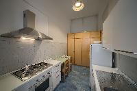 cool modern kitchen in Rome - Popolo Villa Borghese View luxury apartment