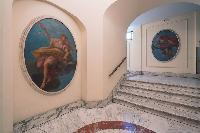 awesome wall art in Rome - Popolo Villa Borghese View luxury apartment