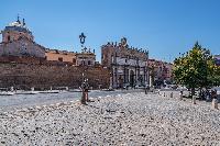 awesome piazza near Rome - Popolo Villa Borghese View luxury apartment