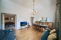 elegant dining room of Rome - Popolo Villa Borghese View luxury apartment