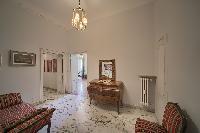 elegant living room of Rome - Popolo Villa Borghese View luxury apartment