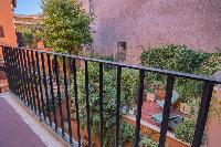 awesome balcony of Rome - Clementina Colosseum 1BR luxury apartment