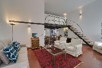 cool multilevel Rome - Clementina Colosseum 1BR luxury apartment and vacation rental